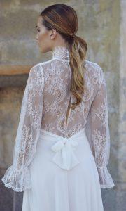 Vestido de novia Venice de Cotonnus hecho a medida en Pozuelo de Alarcón (Madrid)
